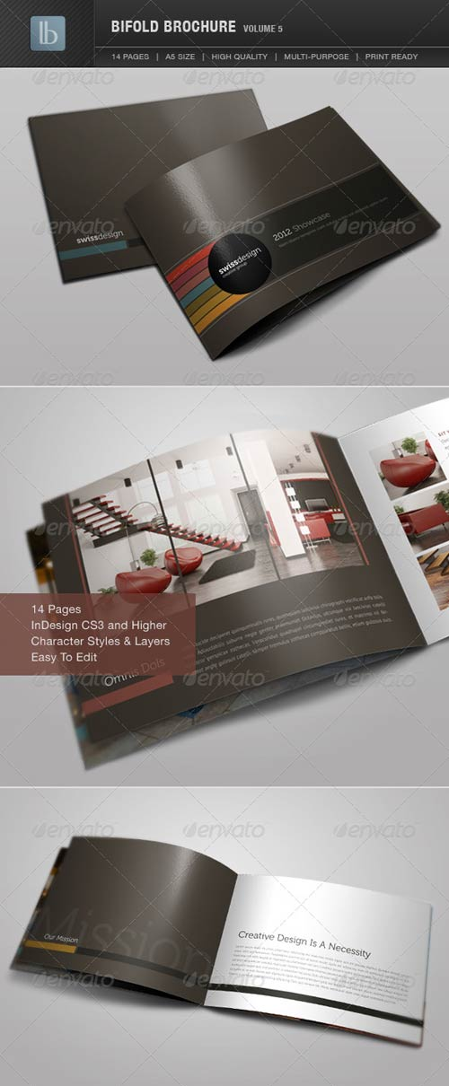 GraphicRiver Bifold Brochure | Volume 5