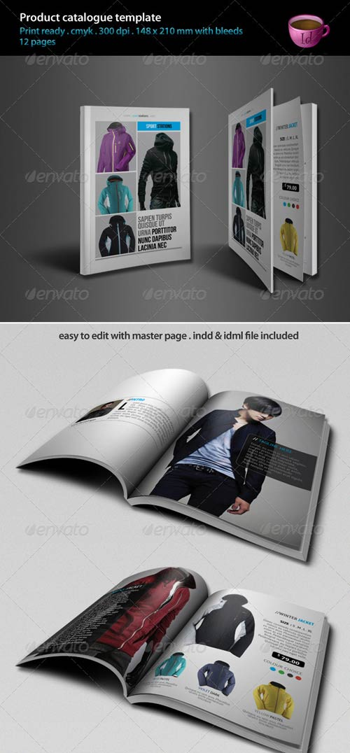 GraphicRiver Product Catalogue Template