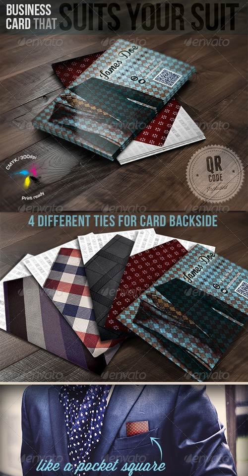 GraphicRiver Business Card That Suits Your Suit