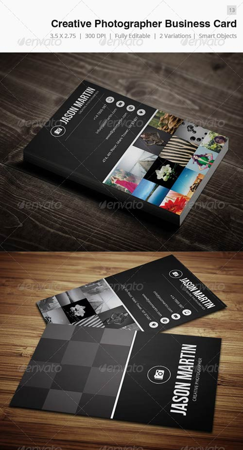 GraphicRiver Creative Photographer Business Card - 13