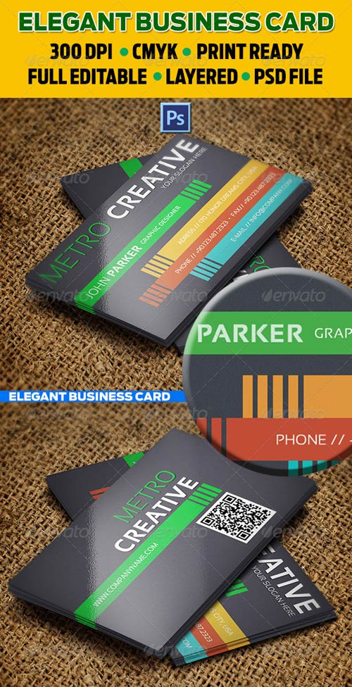 GraphicRiver Creative Business Card 30