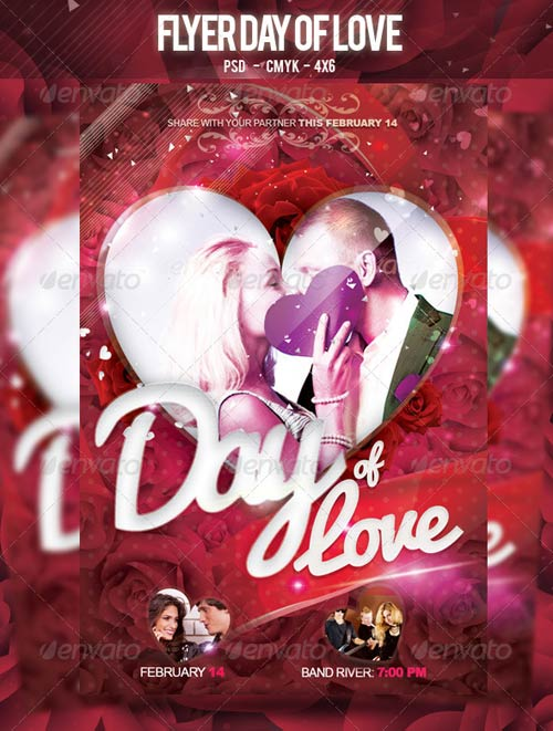 GraphicRiver Flyer Day of Love