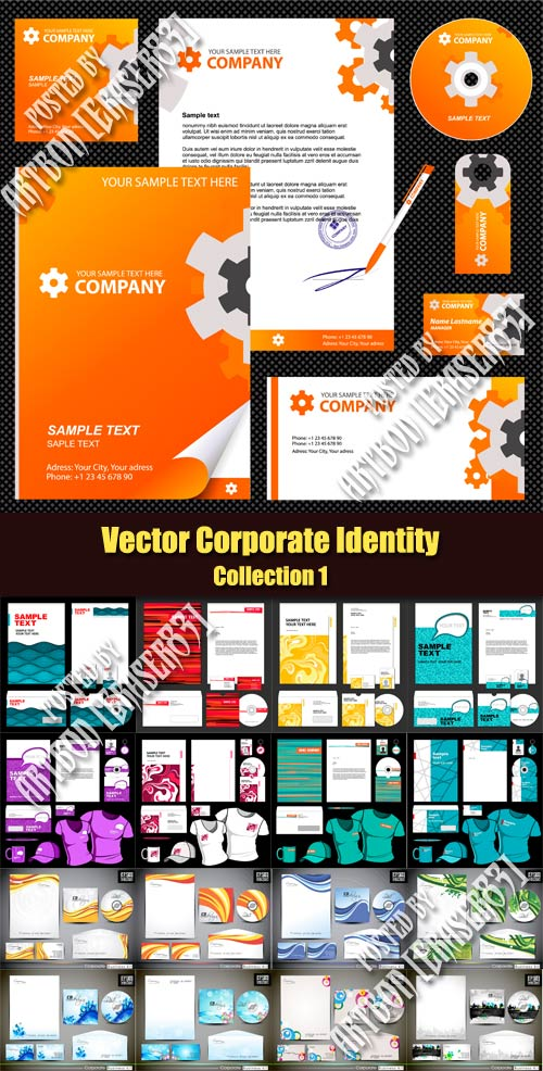 Vector Corporate Identity - Collection 1