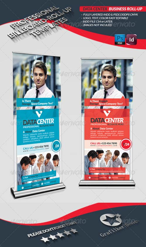 GraphicRiver Data Center Business Roll-Up