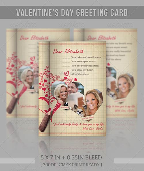 GraphicRiver Valentine Notebook - Love Message
