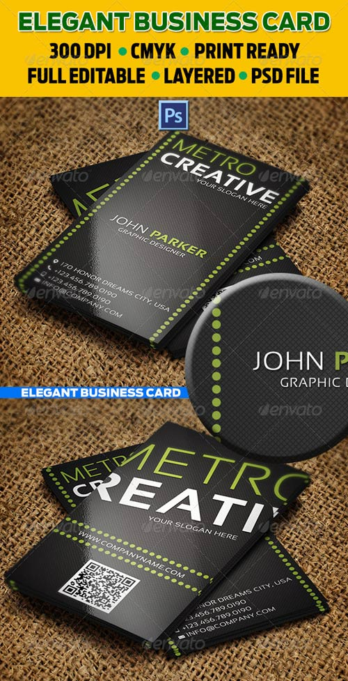 GraphicRiver Creative Business Card 35