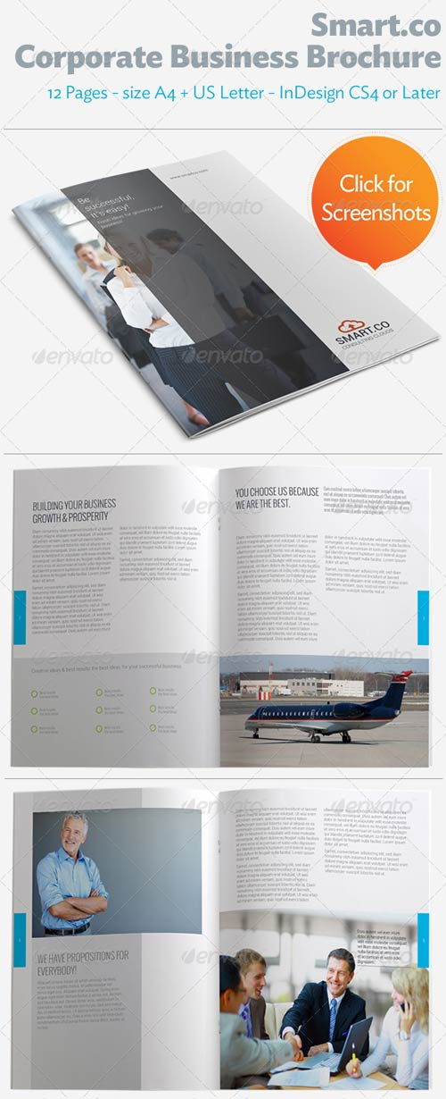 GraphicRiver SmartCo Corporate Business Brochure
