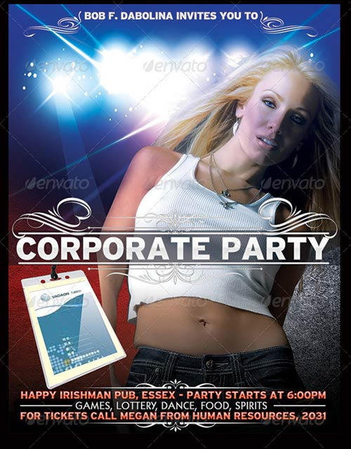 GraphicRiver Corporate party Poster