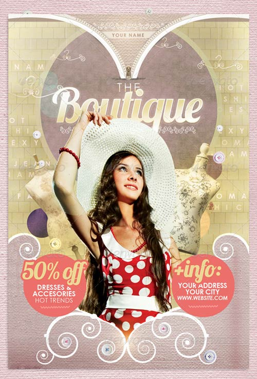 GraphicRiver The Boutique Flyer Template