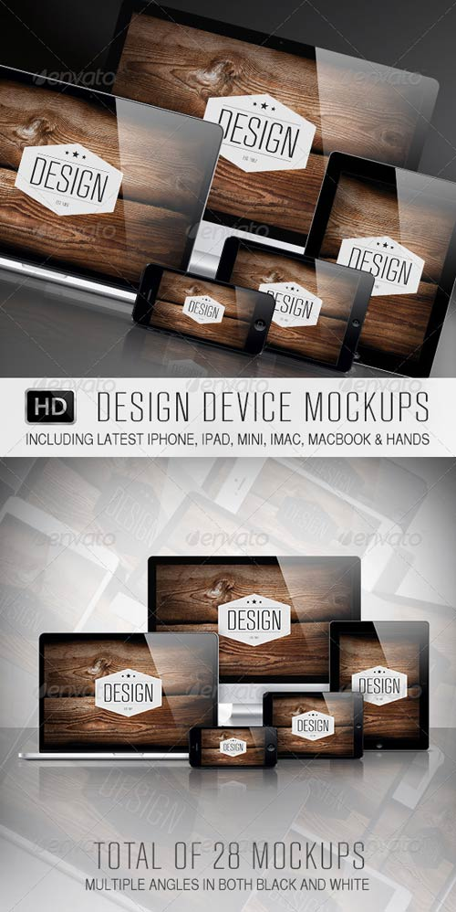 GraphicRiver Design Device Mockups