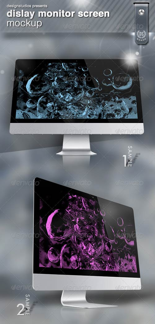 GraphicRiver Dislay Monitor Screen Mock-Up