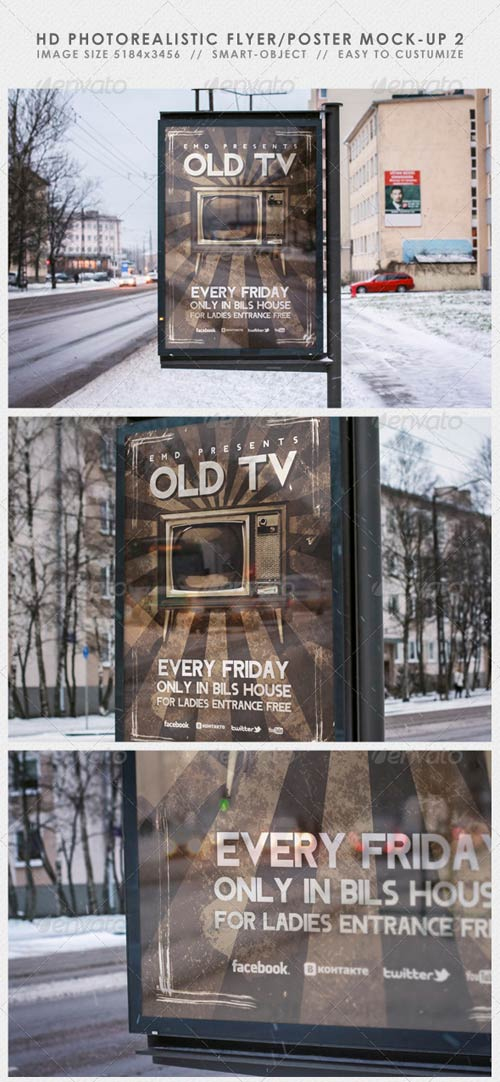 GraphicRiver HD Realistic Flyer/Poster Mock-Up 2
