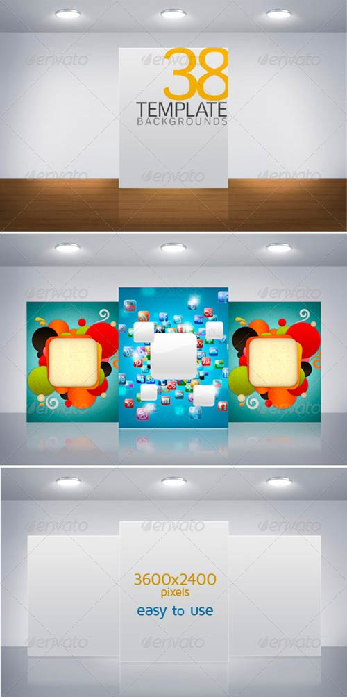 GraphicRiver Template Backgrounds
