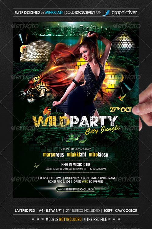 GraphicRiver Wild Party Poster/Flyer