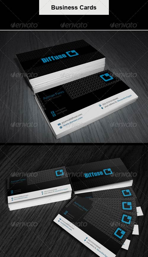 GraphicRiver Business Card | Diffuse