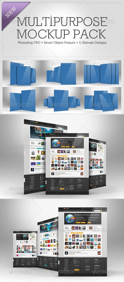 GraphicRiver Multipurpose Mockup Pack 2
