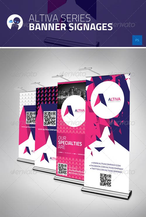GraphicRiver Altiva Series - Banner Signages