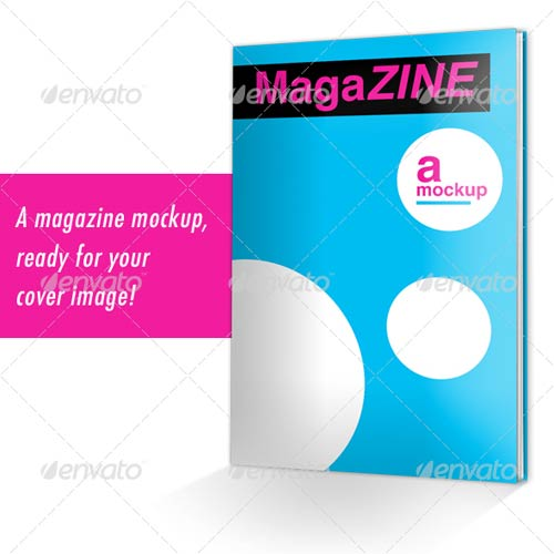 GraphicRiver MagaZINE Mockup