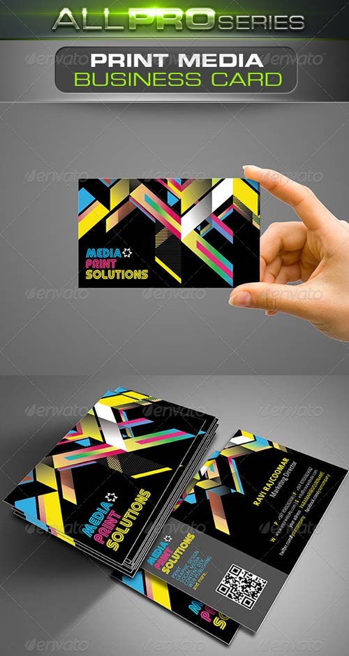 GraphicRiver Print Media Business Card