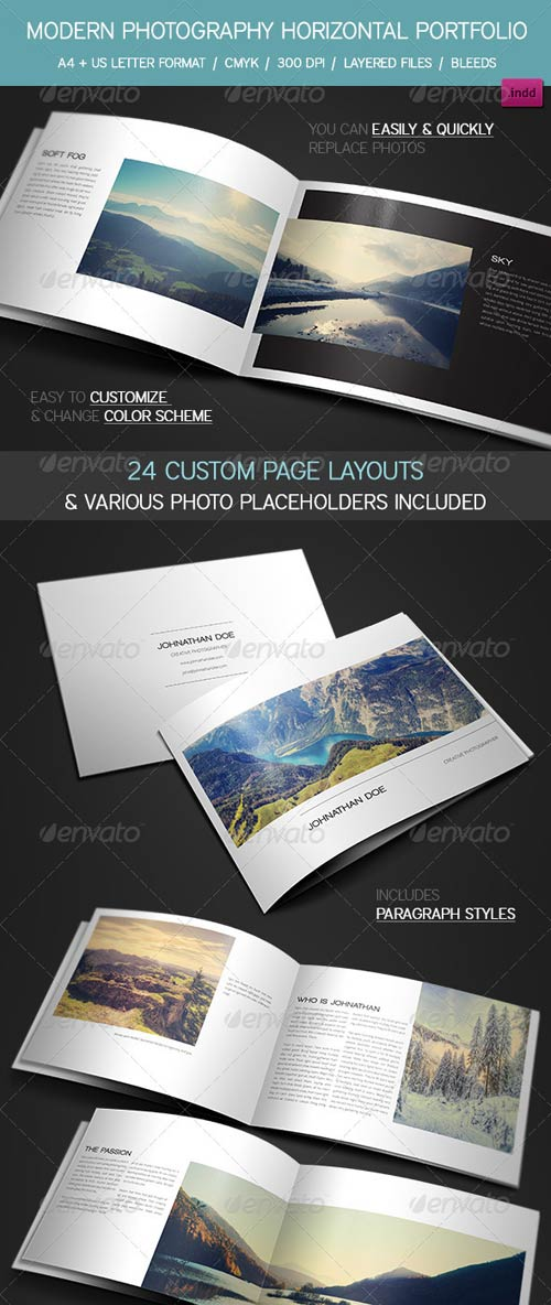 GraphicRiver Modern Photography Portfolio, Wedding Album