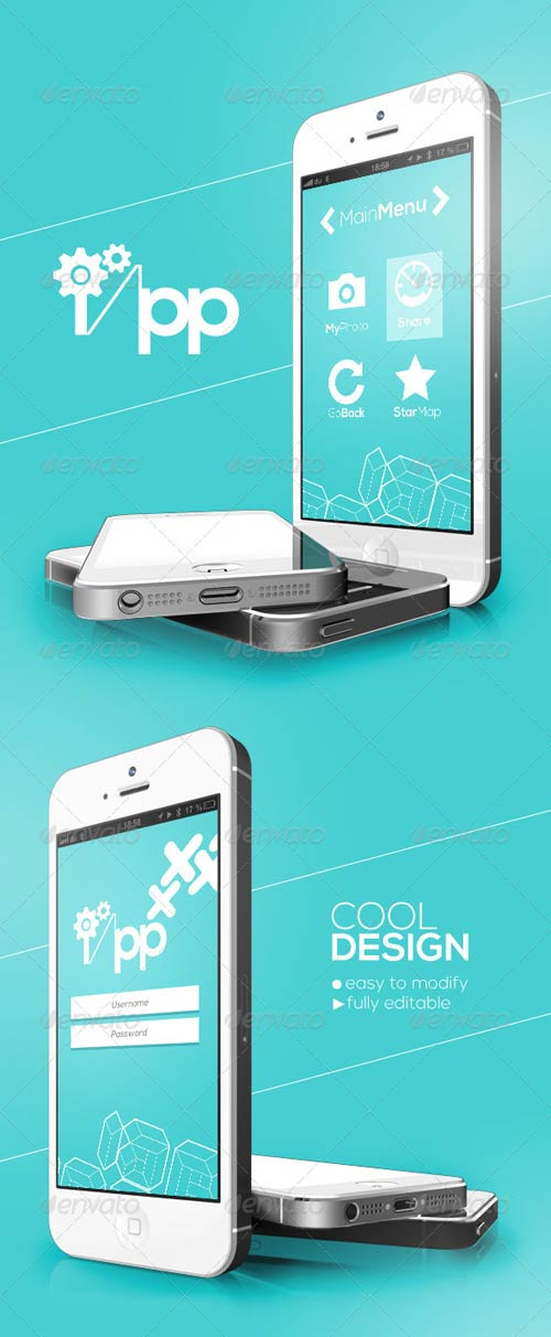 GraphicRiver i5 Image Preview Mock-up