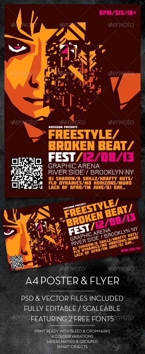GraphicRiver Freestyle Poster & Flyer