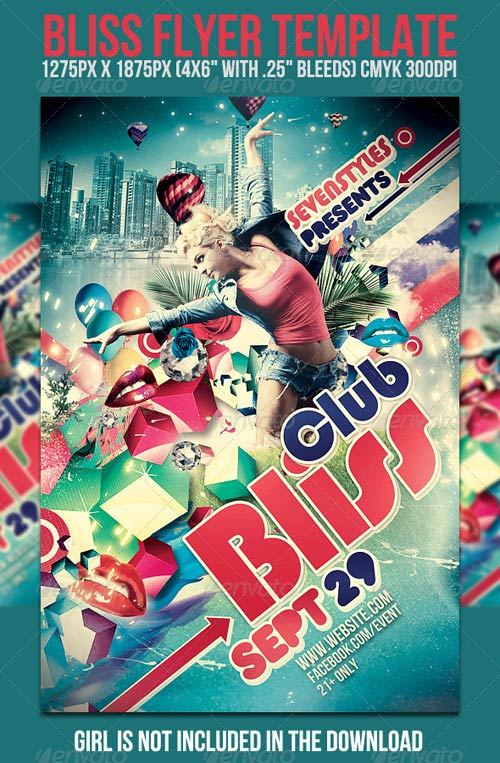 GraphicRiver Bliss Flyer Template