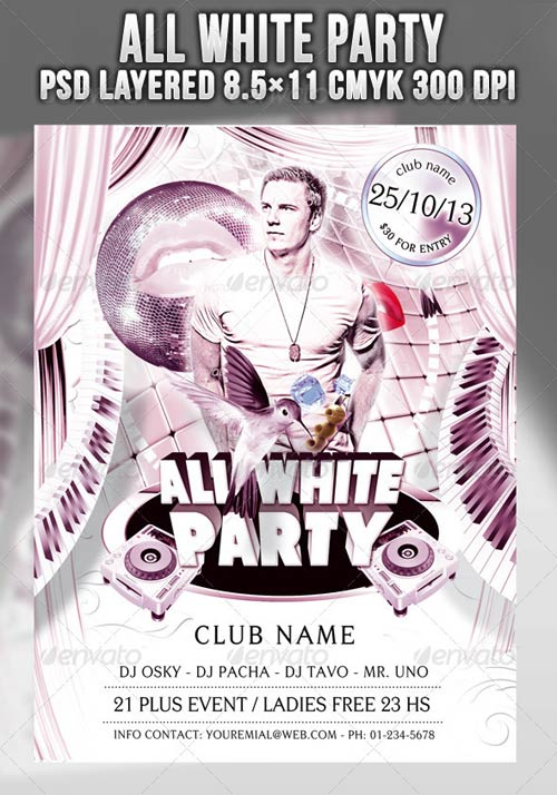 GraphicRiver The All White Party