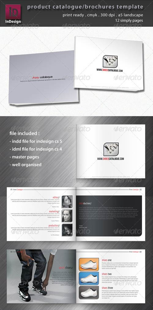 GraphicRiver Product Catalogue/Brochure Template