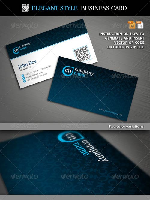 GraphicRiver Elegant Style Business Card