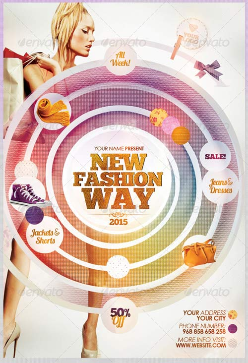 GraphicRiver New Fashion Way Flyer Template