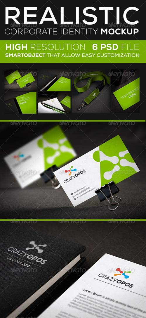 GraphicRiver Corporate Identity Mock Up