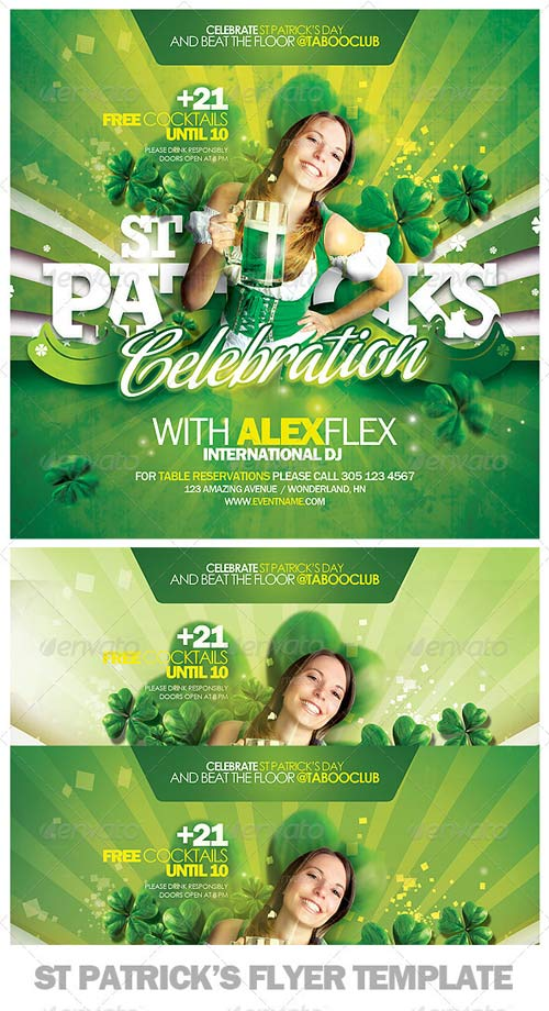 GraphicRiver St Patricks Day Flyer Template