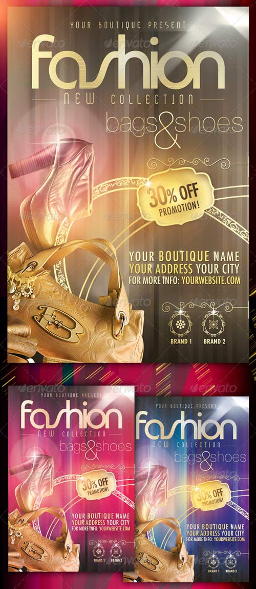 GraphicRiver Fashion New Collection Flyer