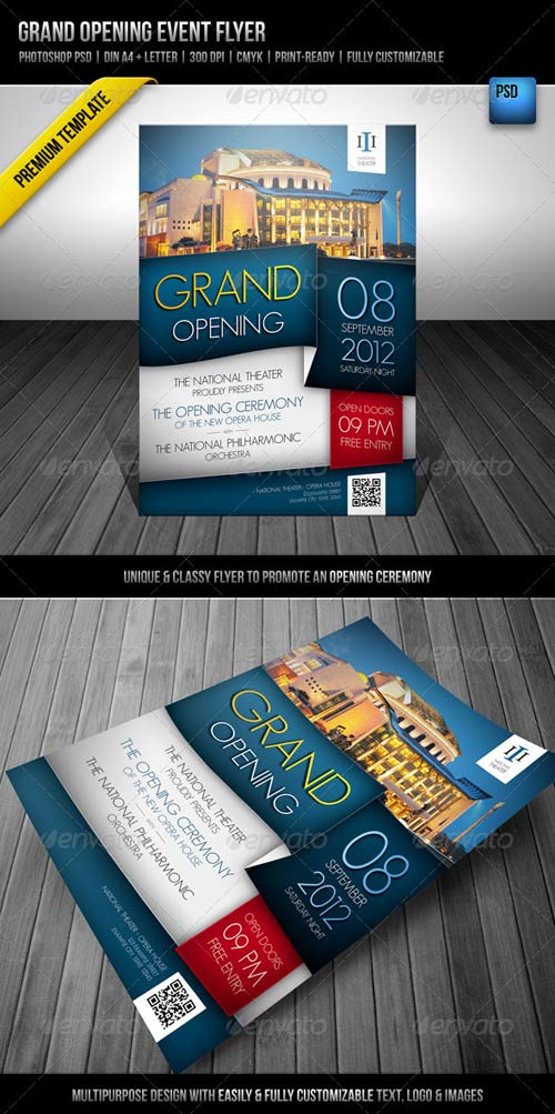 GraphicRiver Grand Opening Event Flyer