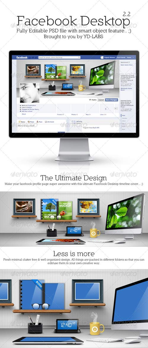 GraphicRiver FB Desktop 2.2