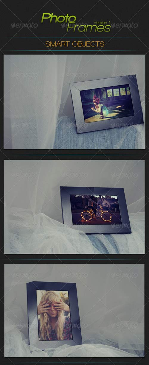GraphicRiver Photo Frames Studio Smart Object