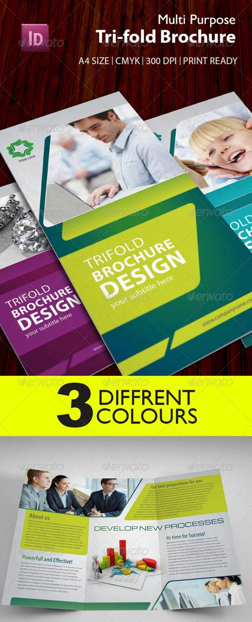 GraphicRiver Multipurpose Trifold Brochure
