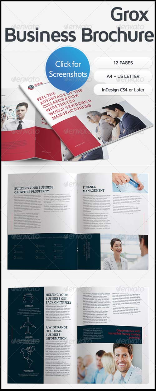 GraphicRiver Grox Business Brochure