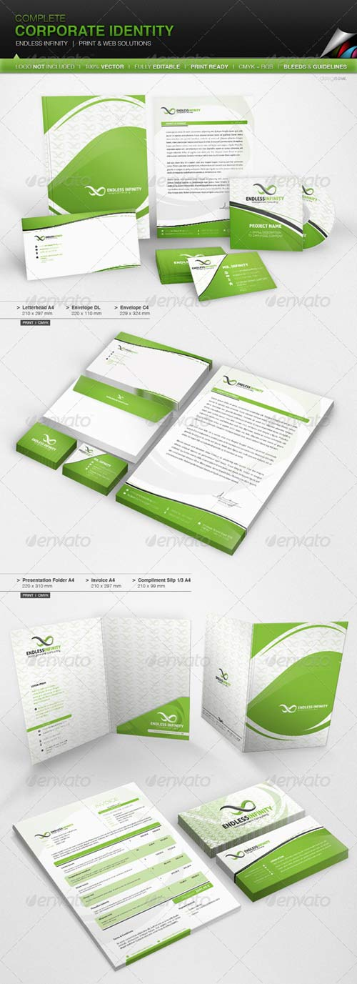 GraphicRiver Corporate Identity - Endless Infinity