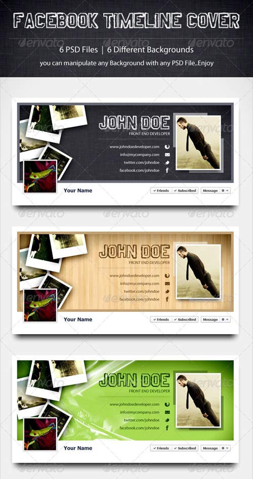 GraphicRiver Facebook Timeline Cover 1545374