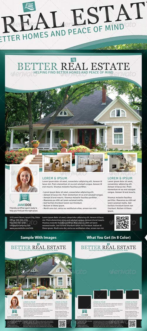 GraphicRiver Better Real Estate Flyer Template