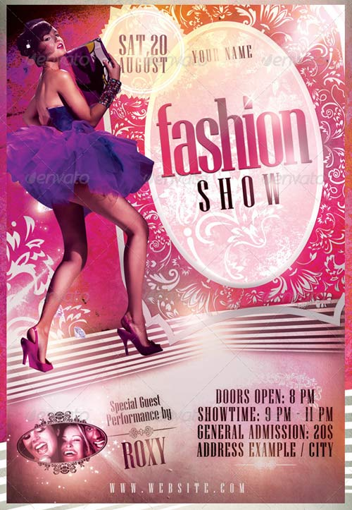GraphicRiver Fashion Show Flyer