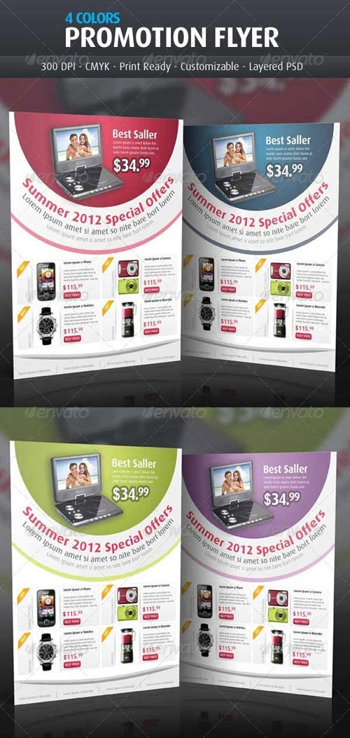 GraphicRiver Business Product Flyer Templates
