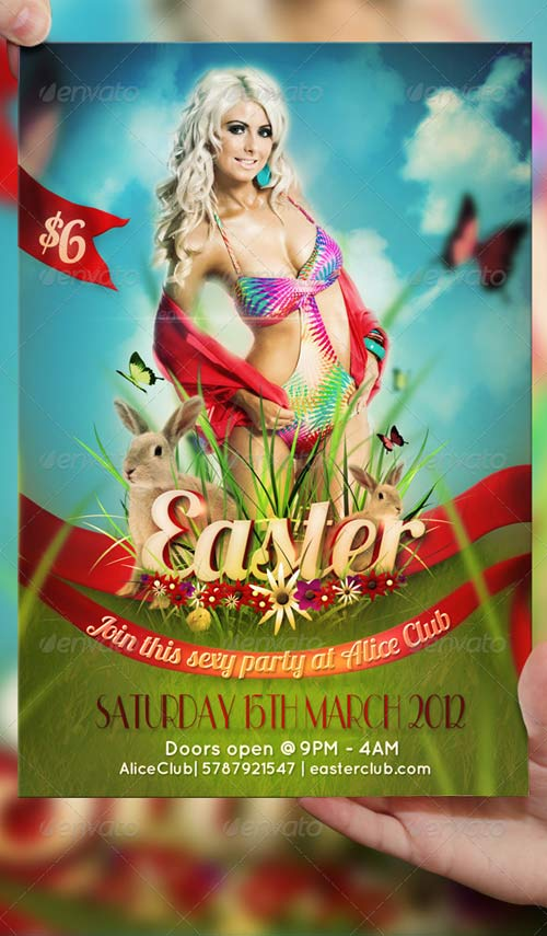 GraphicRiver Easter Flyer Template
