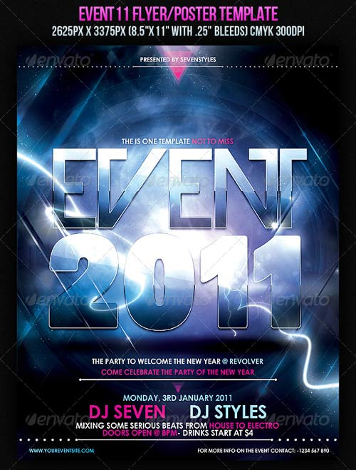 GraphicRiver Event11 Flyer/Poster Template