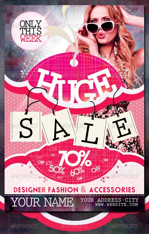 GraphicRiver Sale / Promotion Flyer Template