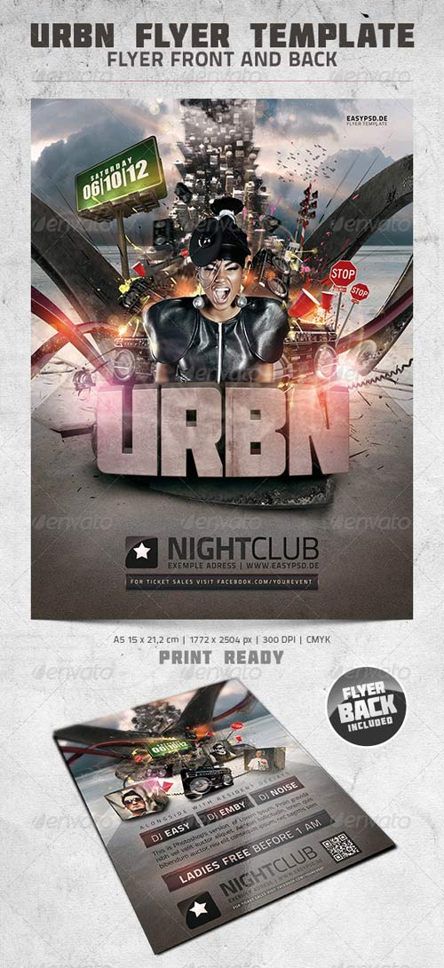 GraphicRiver URBN Flyer Template