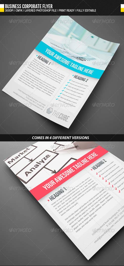 GraphicRiver Business Corporate Flyer