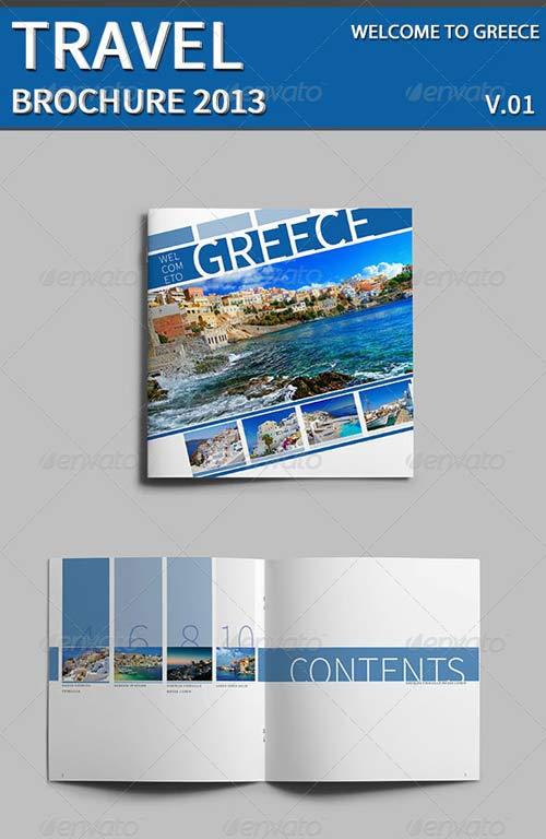 GraphicRiver Welcome To Greece